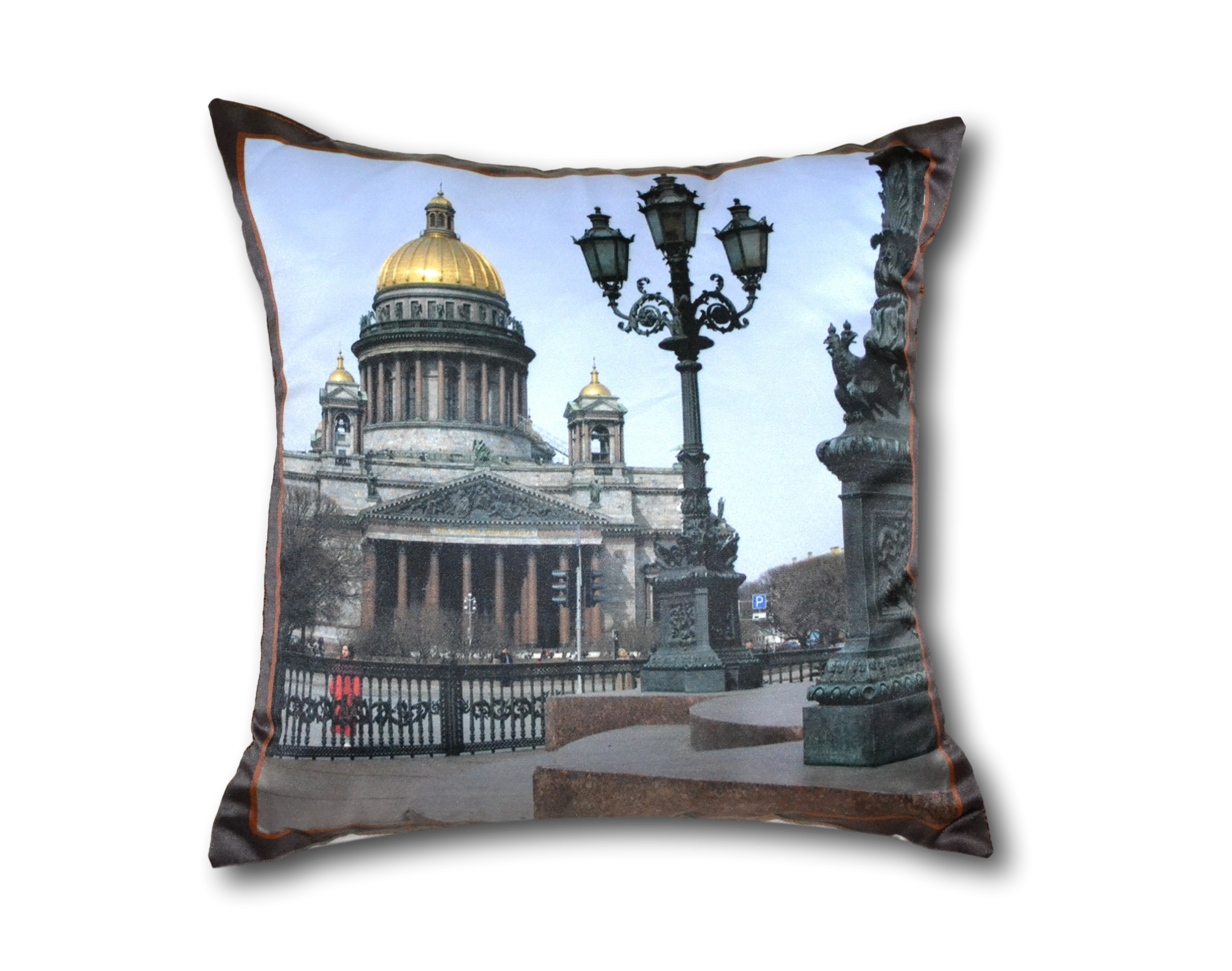 Фотопечать на подушке москва